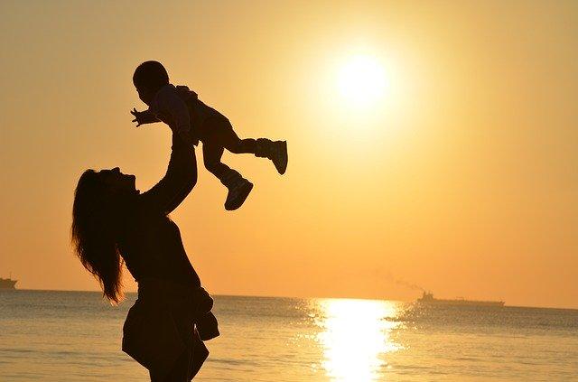 mor og datter uadskillelige